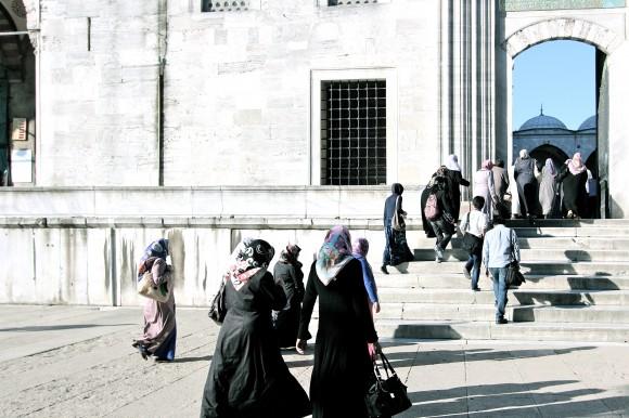 Prayer call at Blue Mosque
